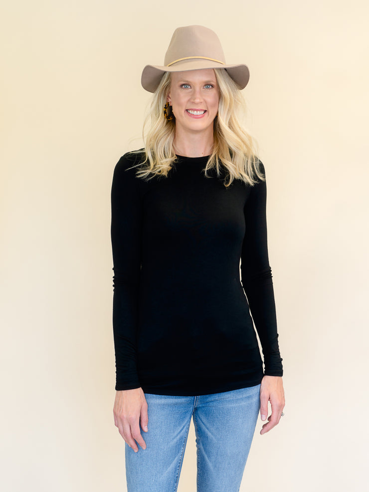 Favorite Black Long Sleeve Amalli Talli