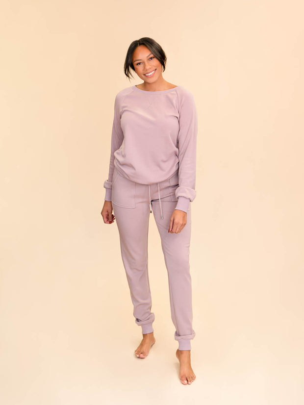 Jogger lounge pants for tall women