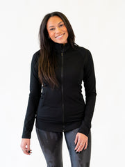 black athletic tall jacket