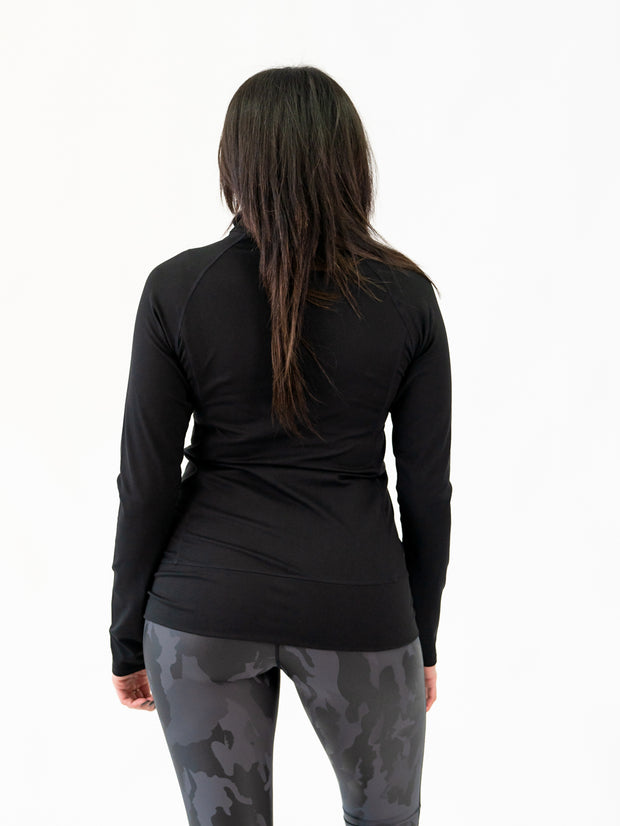 tall athletic jacket in black