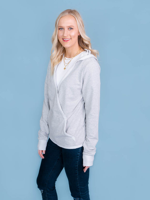 Mix it up hoodie; womens tall athleisure