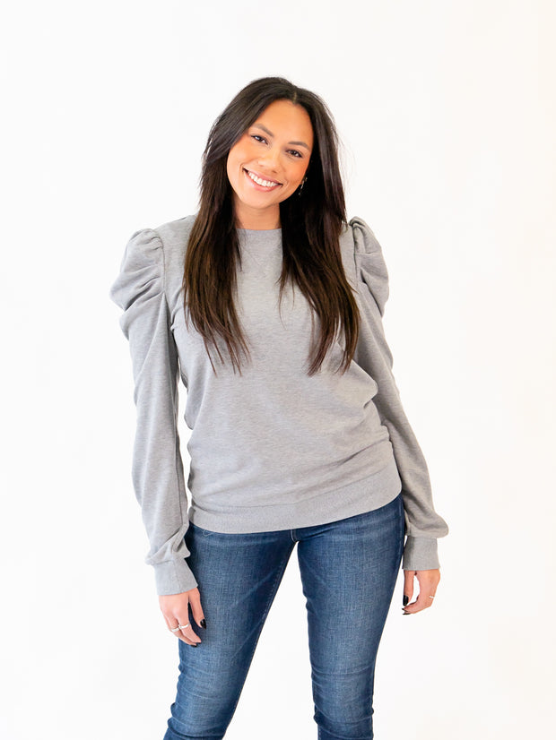 Lolo Tall Puff Sleeve Sweatshirt