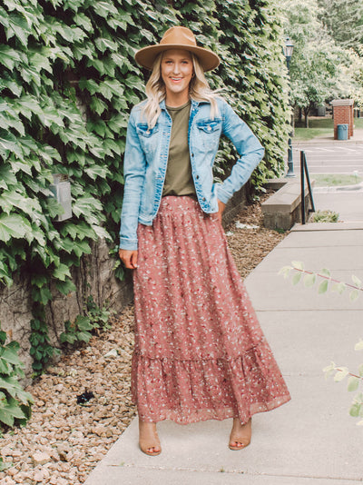 maxi skirt for tall women and girls