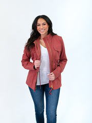 Jacket for tall women - utility