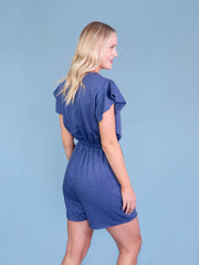 Seychelles Tall Romper by Amalli Talli Back View