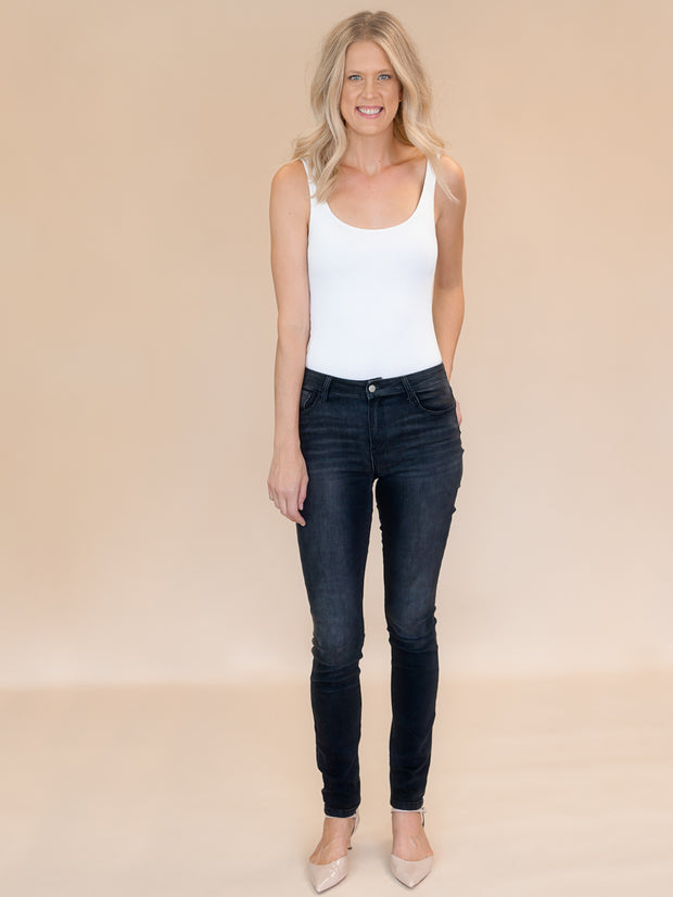 Blakely Tall Skinny Jean.  Tall womens black jeans in 37 and 35 inseam.