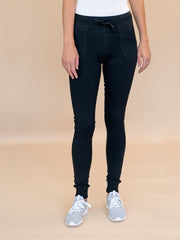 Tall Black Moto Legging