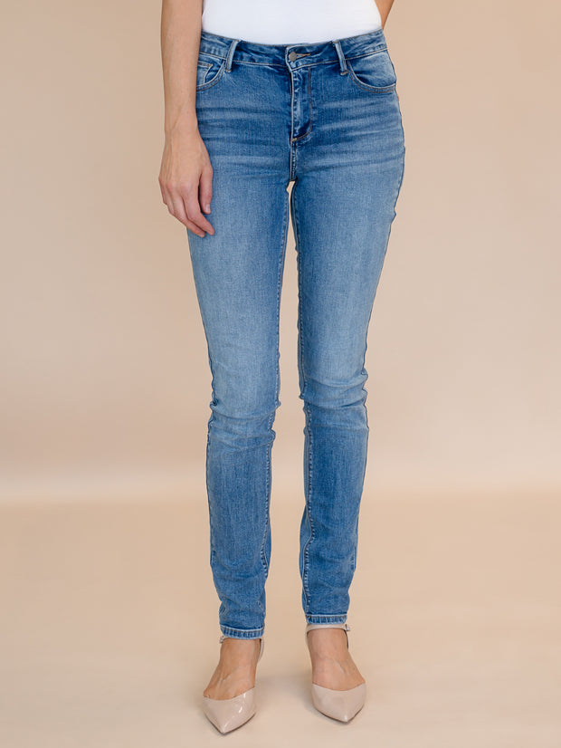 Blakely Tall Skinny Jean Medium Blue Wash.  Tall womens skinny jeans in 37 and 35 inseam.