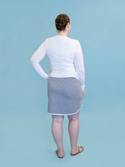 Tall women's skirt in grey