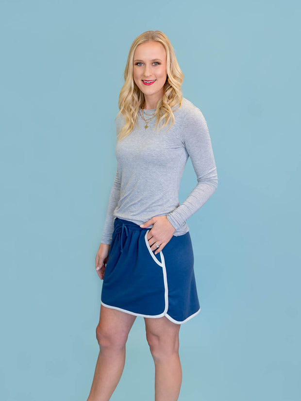 Marina Skirt - Blue