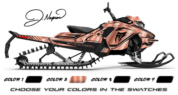 JENNA NAPIER ROSE GOLD SIGNATURE EDITION