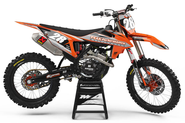 Peak Performance KTM MX Graphics