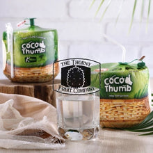 Load image into Gallery viewer, [IMPORTED] Coco Thumb Fresh Young Coconut - The Thorny Fruit Co