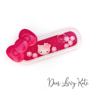 Kitty Liquid Shaker Hair Clips