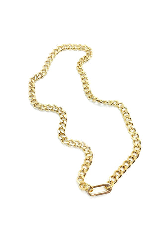 "Jocelyn Kennedy - 16.5"" Gold Plated Chain"