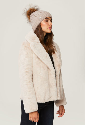 Soia and Kyo - Amalie Cable Knit Hat