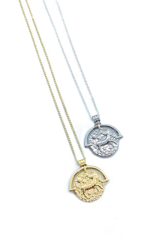 Jocelyn Kennedy - Aries Zodiac Necklace