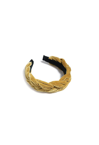 Shiraleah - Chunky Braided Headband in Gold