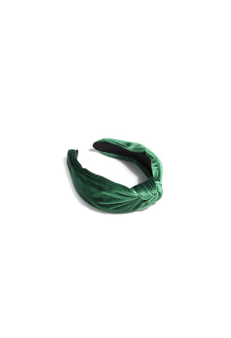Shiraleah - Chunky Knotted Headband in Emerald
