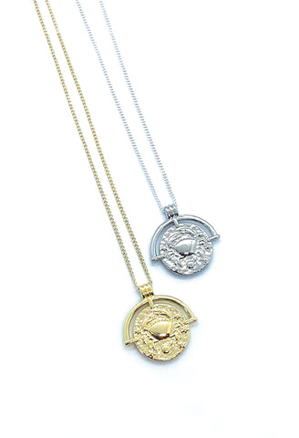 Jocelyn Kennedy - Cancer Zodiac Necklace