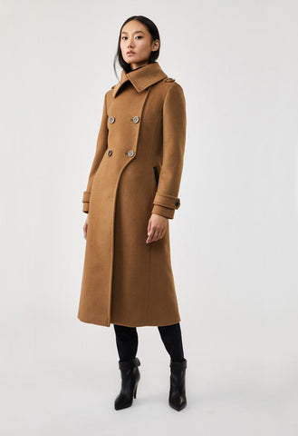Mackage - Elodie Wool Coat with Buttons