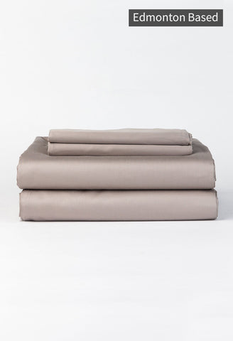 Skylark + Owl - Queen Refined Sateen Sheet Set