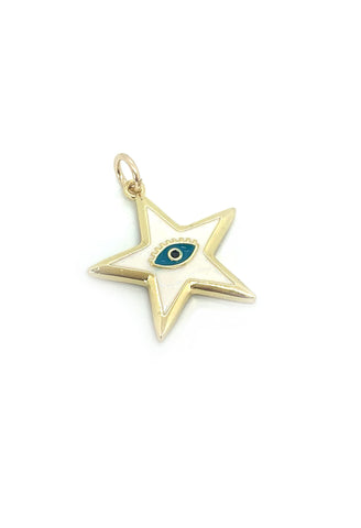 Jocelyn Kennedy - Evil Eye Star Pendant
