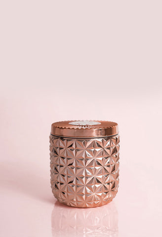 Capri Blue - Jumbo Gilded faceted Jar in Pink Grapefruit and Prosecco