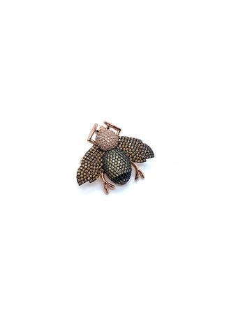 Jocelyn Kennedy - Rose-gold and Black Critter Pin