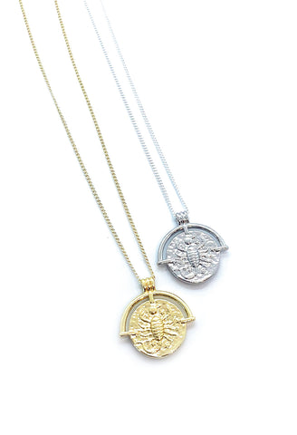Jocelyn Kennedy - Scorpio Zodiac Necklace