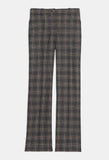 Theory - Straight Jean in Plaid Wool