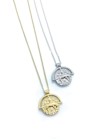 Jocelyn Kennedy - Taurus Zodiac Necklace