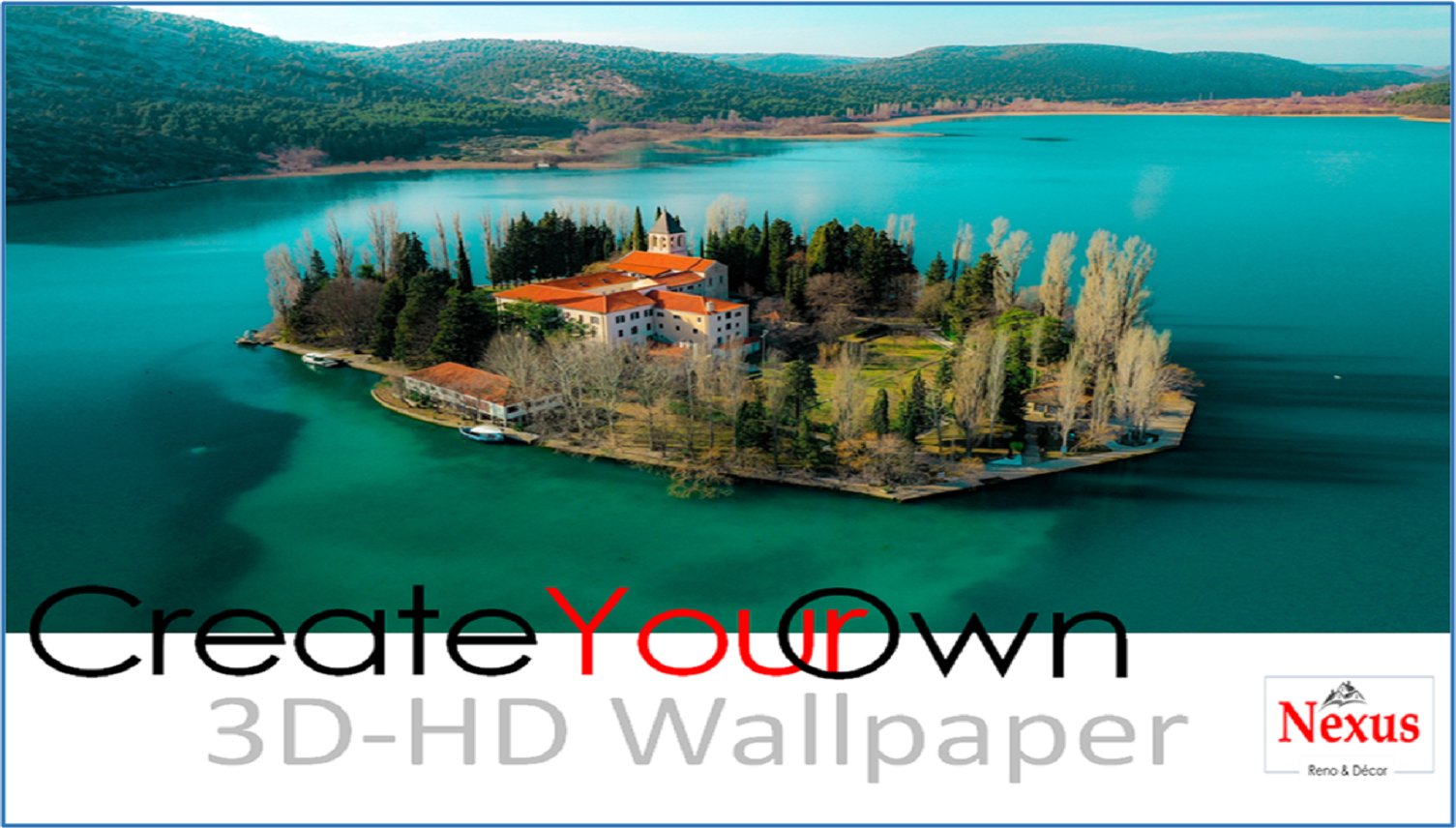 "Custom Made ""Create Your Own"" 3D Wallpaper Now Available!"