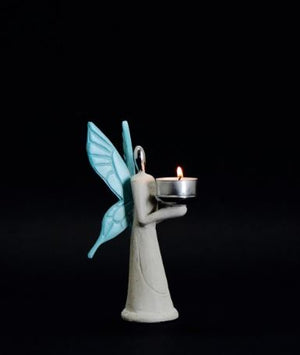 Angel of Peace Stone Cast Heat Glazed SKU# IAC-0006