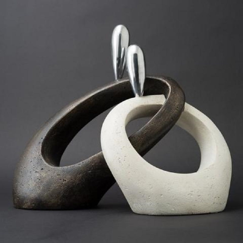 Forever Entwined Stone Cast, Heat Glazed SKU# IAC-0002