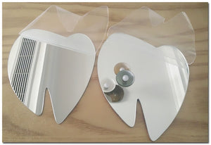 Wall Mirror Plate Self-Adhesive (Removable) SKU# MOS0031