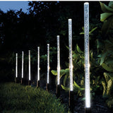 Exterior LED Garden Path Solar Power Tube Lights Lawn SKU# LIGE0021