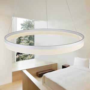 Circle of Trust III LED Single Ring Acrylic Pendant SKU# LIG0010