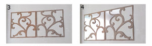 Wall Mirror Plate Self-Adhesive (Removable) SKU# MOS0010