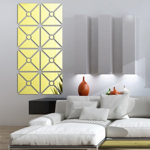 Wall Mirror Tile Lumare Self-Adhesive SKU# MOS0011