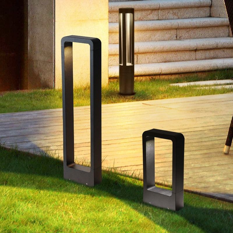 Exterior Bollard COB LED Lighting Waterproof IP54 SKU# LIGE0010