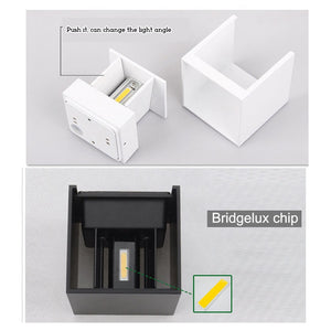 Exterior COB LED Symetrical Wall Sconce IP65 SKU# LIGE0003