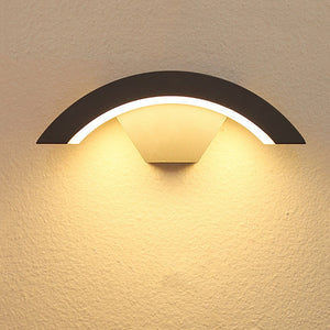 Exterior LED Wall Sconce Infrared Motion Sensor IP54 SKU# LIGE0009