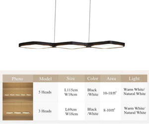 LED Diamond Sky Susp. Chandeliers Dimmable SKU# LIG0094