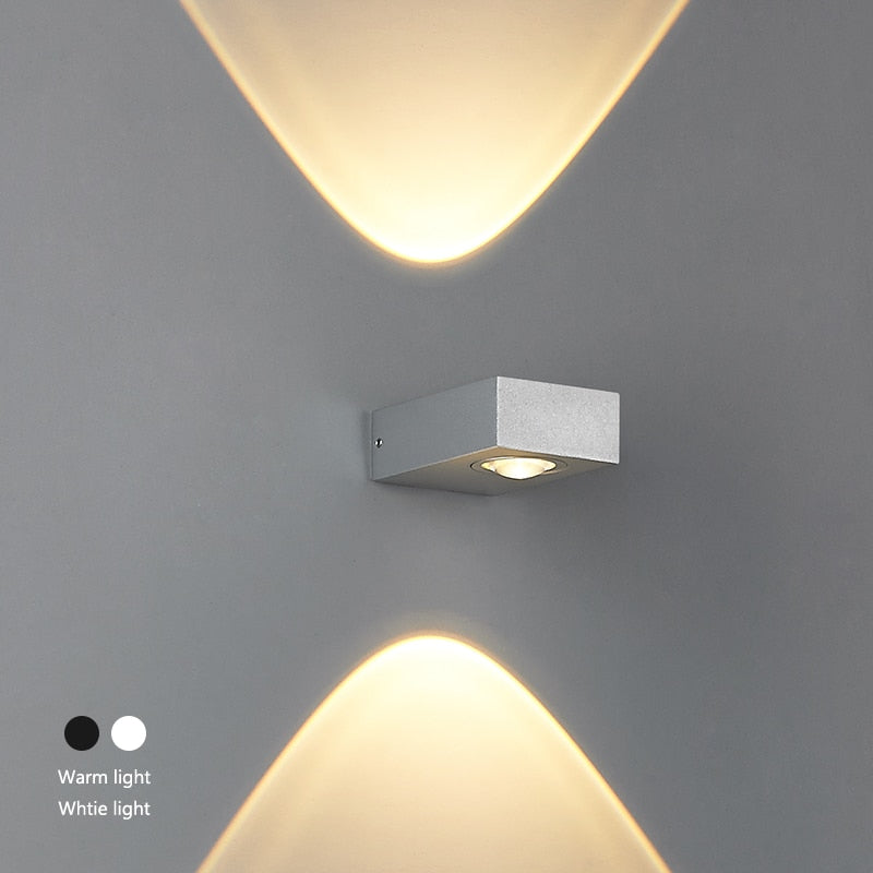 Exterior LED Art Decor Wall Sconce IP65 Aluminum SKU# LIGE0016