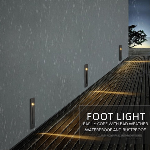 Exterior LED Puluoti Step Light IP65 Alloy Rustproof 3W SKU# LIGE0020