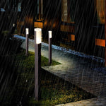 Exterior LED Black Pathway Bollard Designer Lamp IP65 SKU# LIGE0022