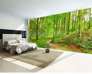 3D Wallpaper Mystic Forest Path Waterproof SKU# WAL0208