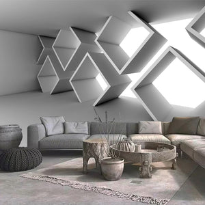 3D-HD Wallpaper Custom Photo Space Ash Wall SKU# WAL0159