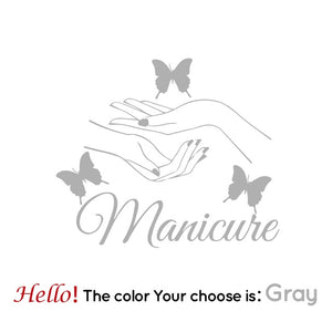 Wall Stickers Manicure Hands (multiple colours) SKU# WAL0014